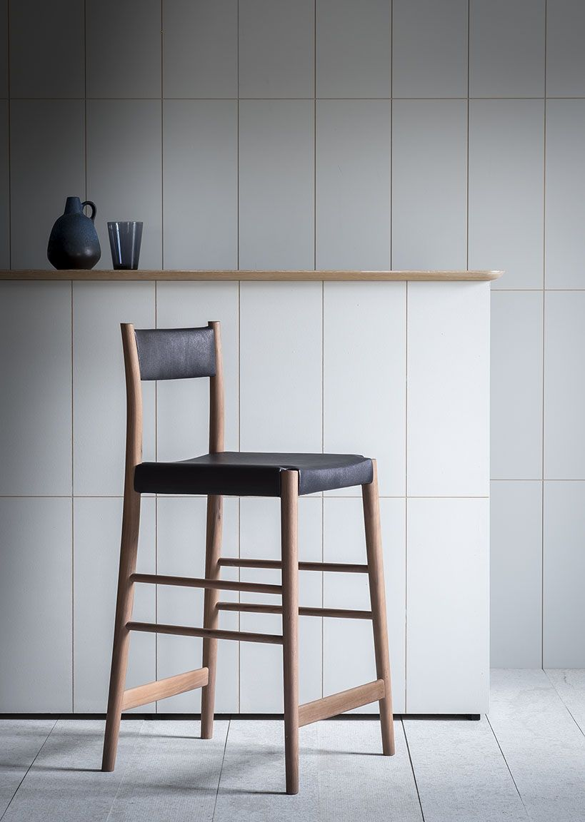 Upholstered Avery Bar Stool From Pinch Furniture Big Houses Interior