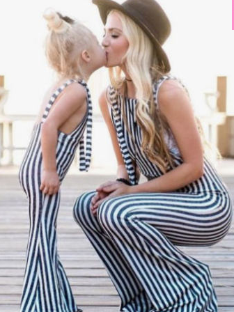 338f8b24bbf Adorable Mommy and Me matching jumpsuits!