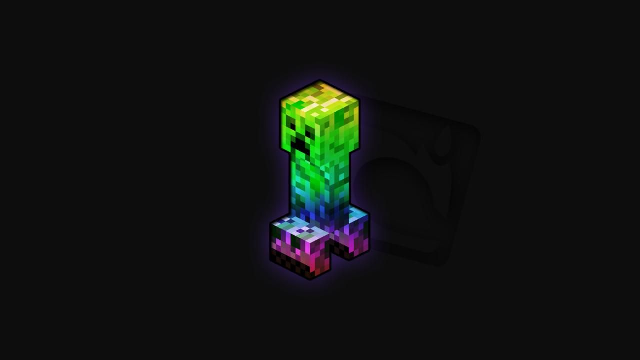 wallpaperspoints minecraft creeper background wallpaper