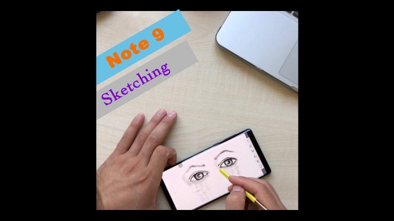 Samsung Galaxy Note 9 Speed Sketching Eyes - Autodesk