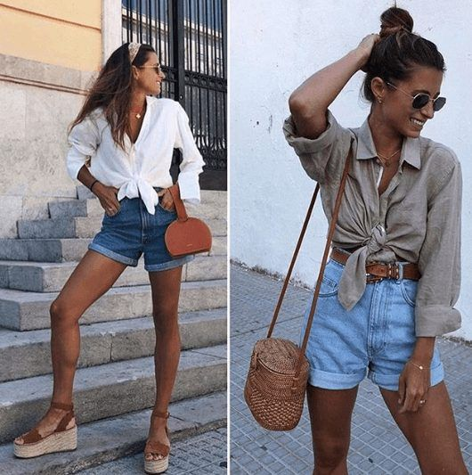 Outfits with Mom Shorts – 28 Ideas on How to Wear Mom Shorts