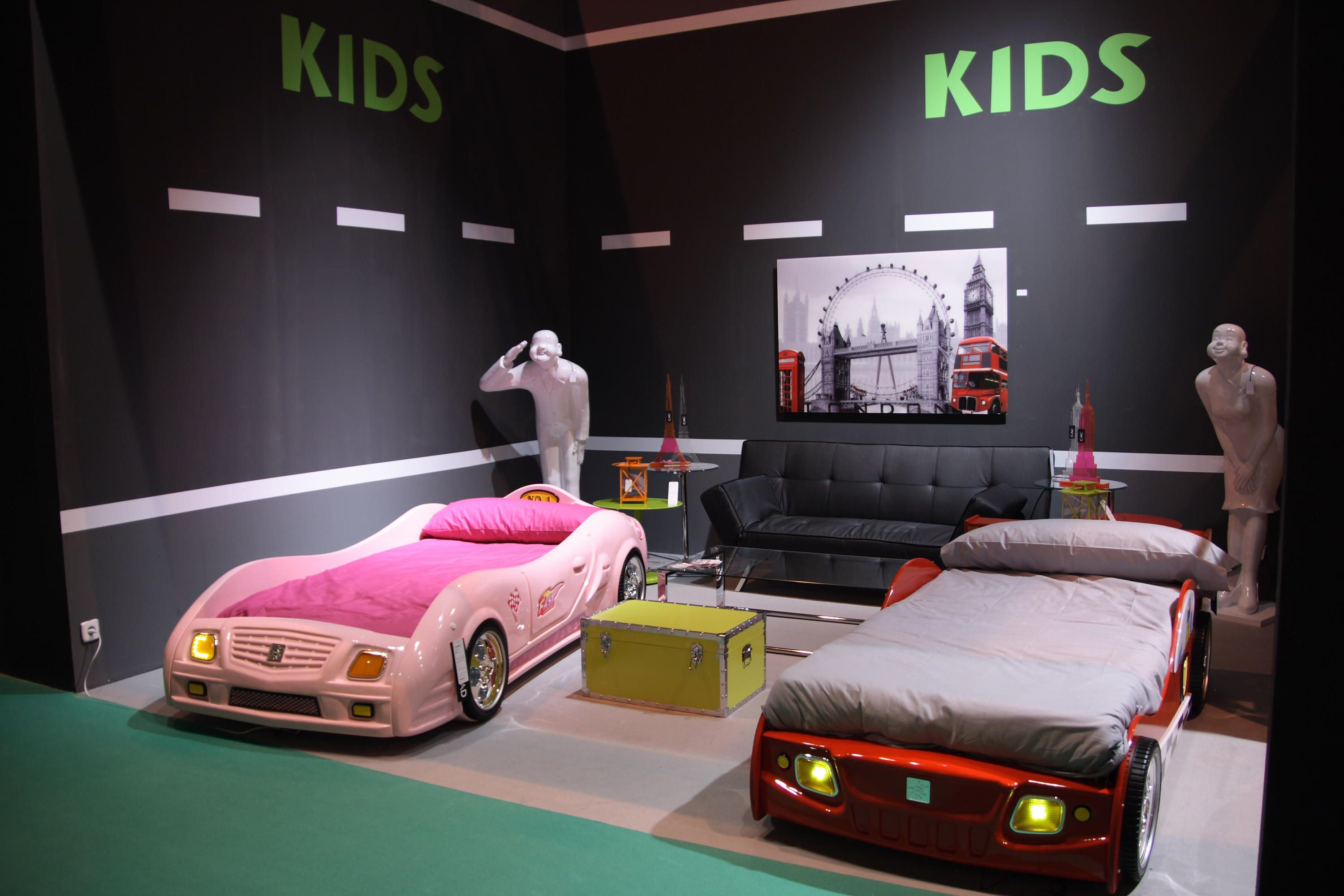 Girl And Boy Car Beds An Awesome Shared Room
