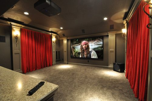 Media Room Game Room Bar Seating 183 Black Ceiling 183 Brown