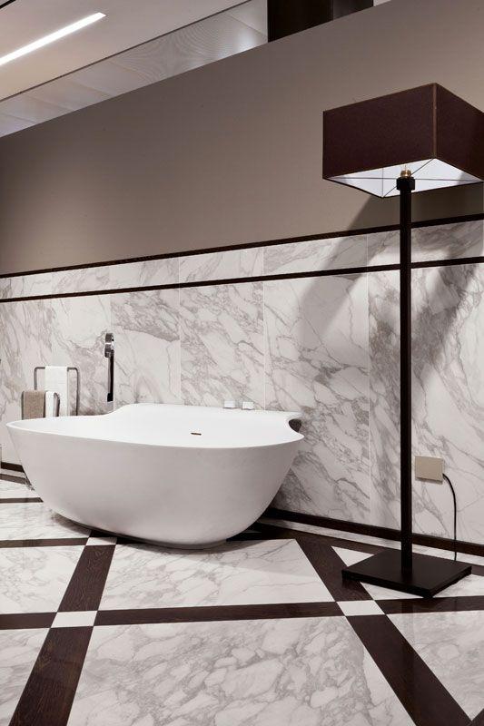 I bianchi di rex calacatta marble marbletile tiles - Rex piastrelle bagno ...