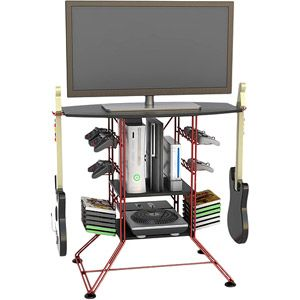 Atlantic Centipede Gaming Storage Center And Tv Stand For Tvs Up To