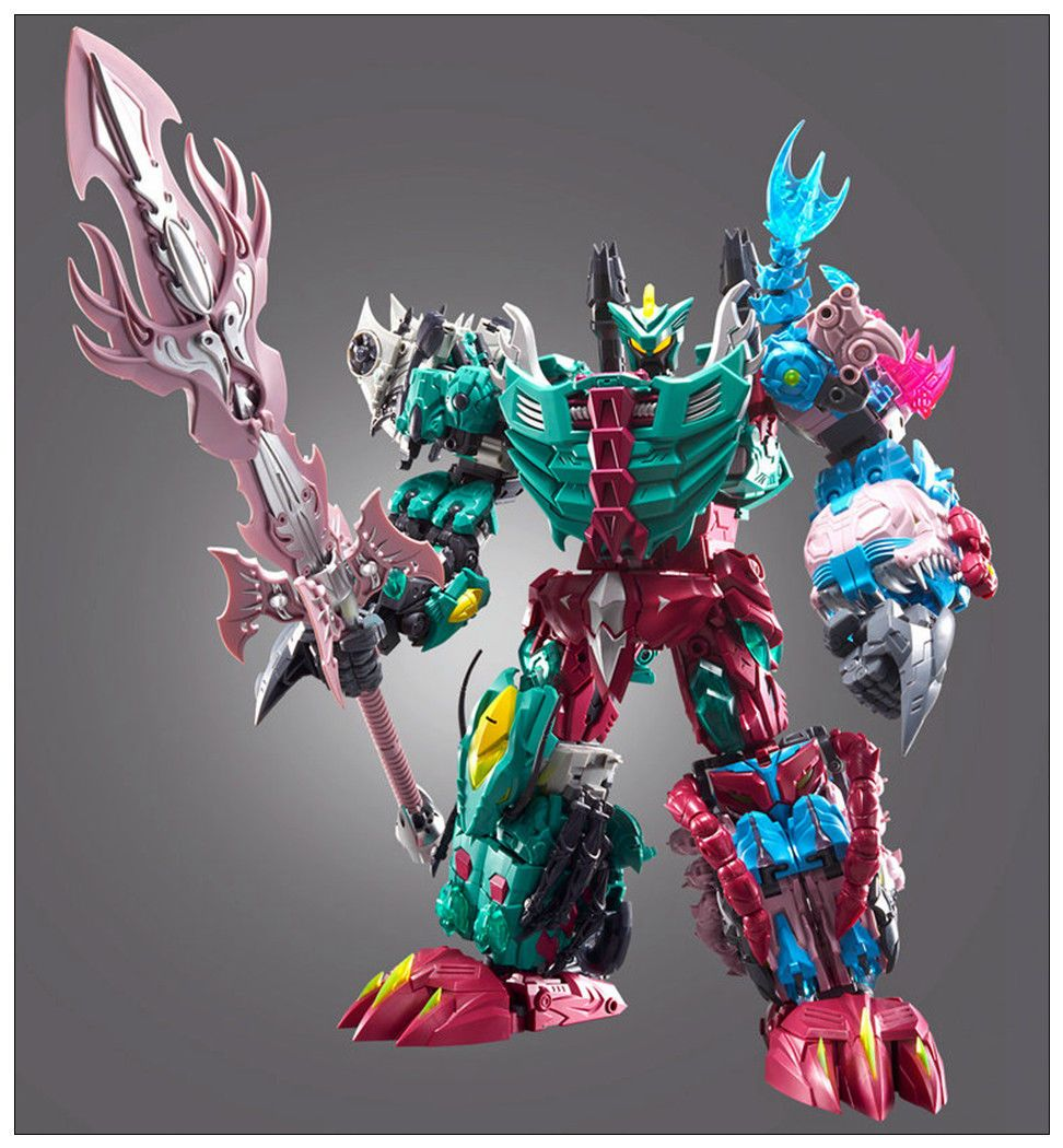 New Transformers TFC Poseidon P-02 Cyberjaw Action figure toy reprint instock