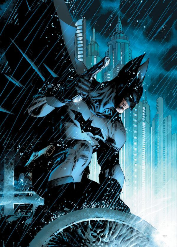 "Official DC Comics Jim Lee Collection True Detective #Displate artwork by artist ""DC Comics"".… | Displate thumbnail"