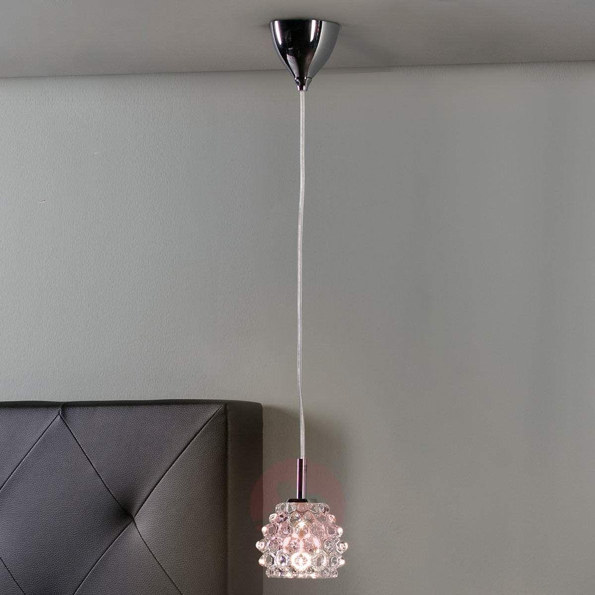Hestia Ii Ozdobna Lampa Wisząca Led Ze Szkła Lampy
