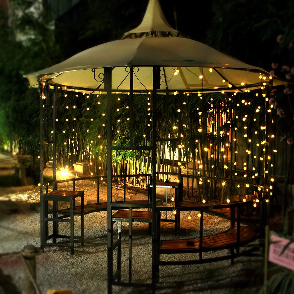 Outdoor Lights On Patio: Pin By Joanna Liu On Solar String Lights