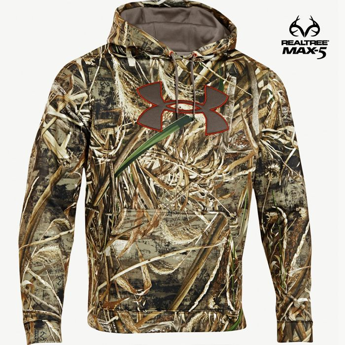 Men s Realtree Max 5 Under Armour Big Logo Hoodie  70.99  RealtreeMax5 30e8ed4c2