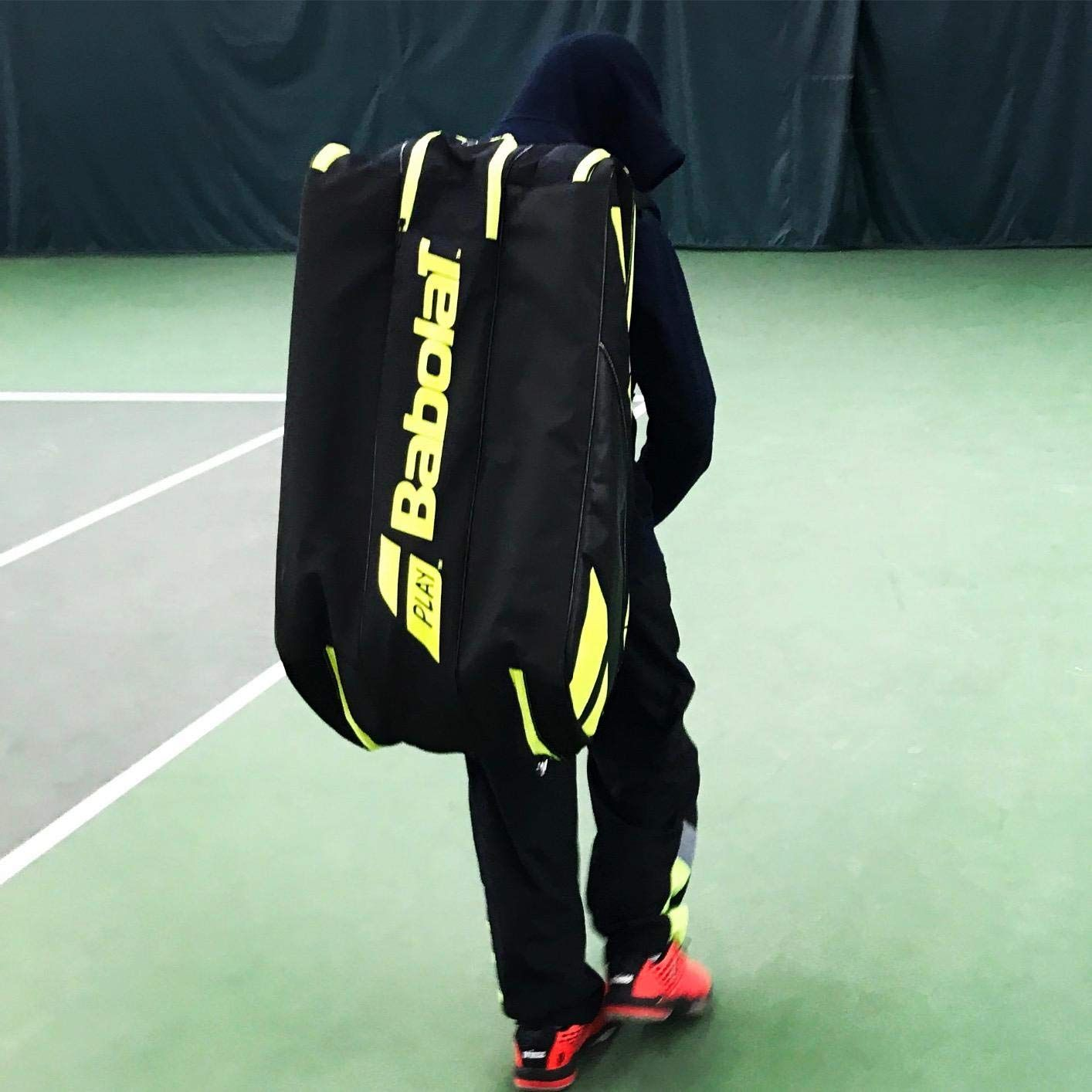 Babolat Pure Tennis Racquet Holder X12 Black Yellow The Babolat Pure 12 Pack Tennis Bag Is Perfect For The Competitive Player With Space For Up To 12 Deportes