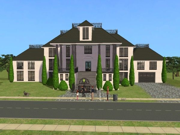 6 Bedrooms 4 Bathrooms Sims 2 House Sims Sims 2
