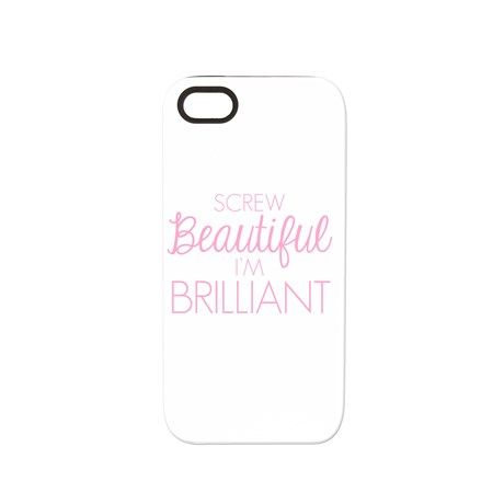 Greys Anatomy: Screw Beaut iPhone 5/5S Tough Case on CafePress.com