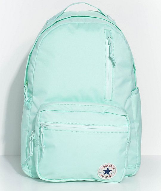 1f9364979d67 Converse Go Pack Mint Foam Backpack in 2019