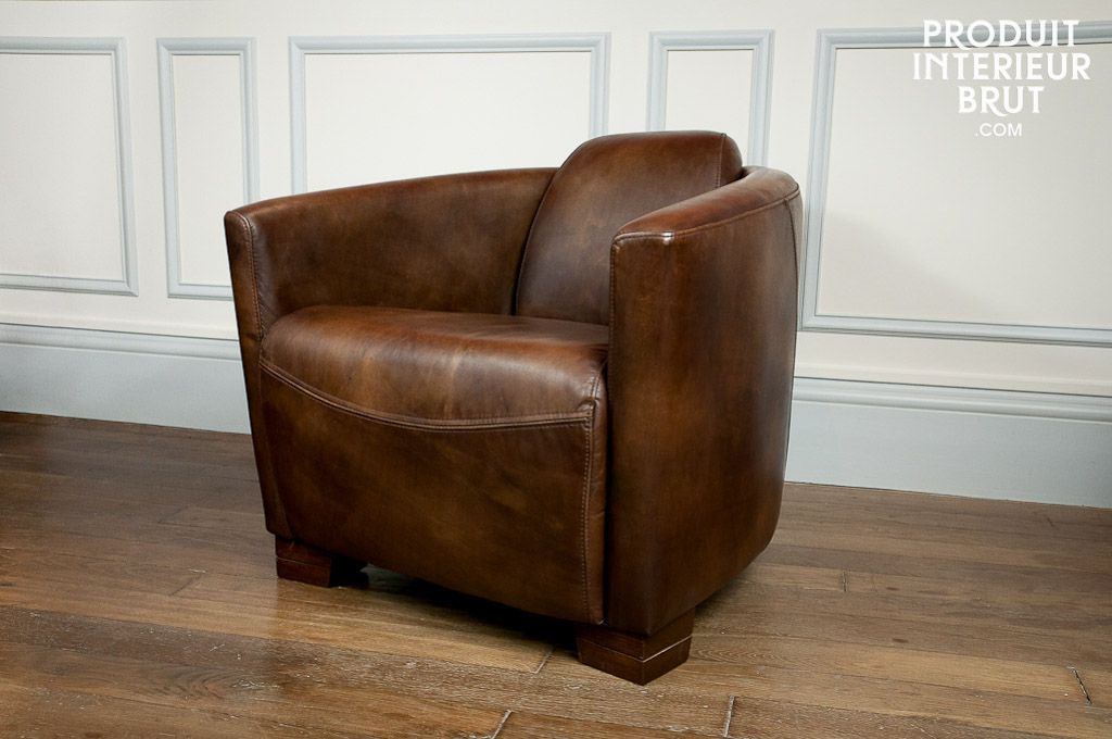 Fauteuil Red Baron Leather Armchair Best Leather Sofa Armchair