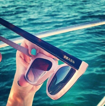 Prada sunglasses #zimmermanngoesto