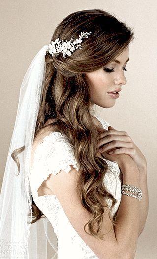 Untitled Wedding Hairstyles Hairstyles Untitled Wedding En 2020 Peinados Para Boda Con Velo Peinados Boda Pelo Largo Peinados De Novia Modernos