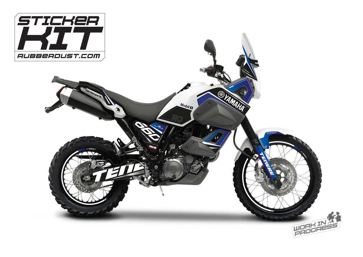 Stickerset For The Yamaha Tenere Xt660z