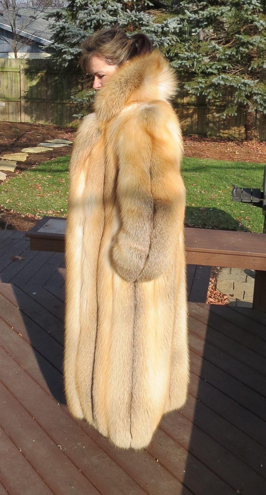 New Saks Birger Christensen Pristine Soft Long Full Length