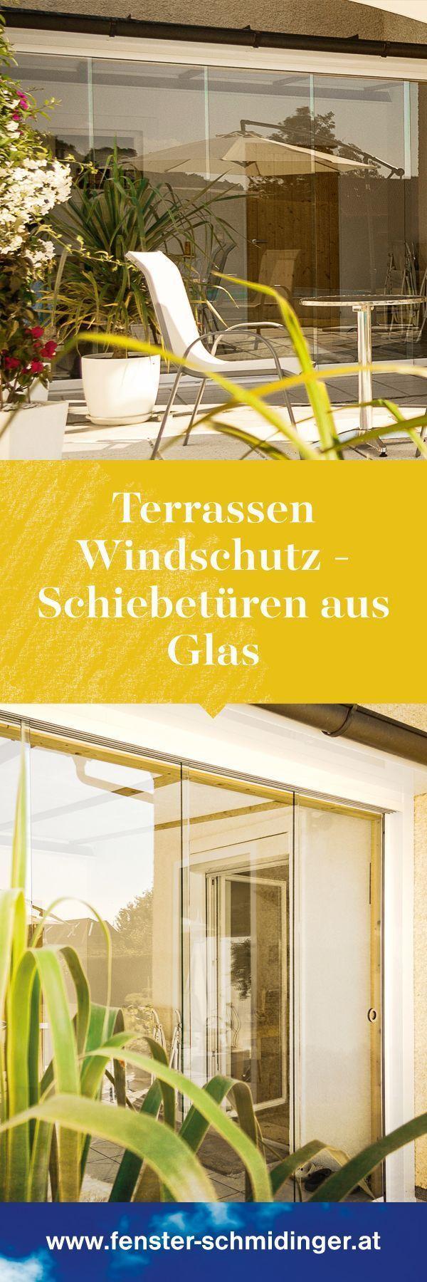 Glasschiebesysteme Fur Terrassen Von Sunflex In Osterreich Montiert