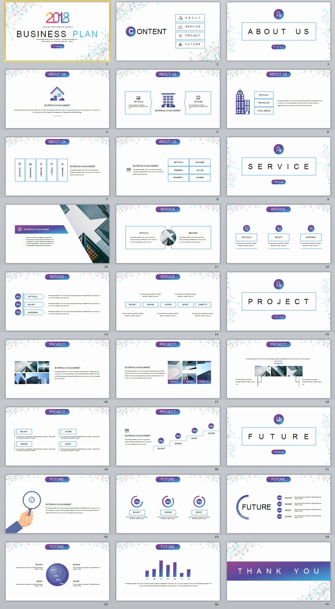 27+ Best Business Plan Creative PowerPoint template