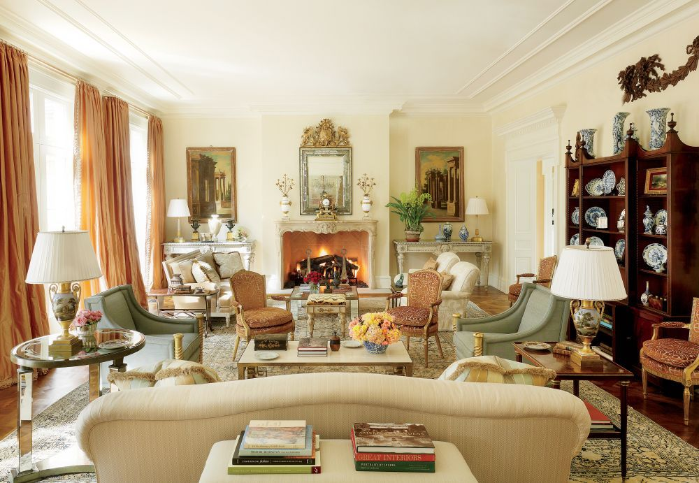 Traditional Living Room By Bunny Williams Inc Ad Designfile