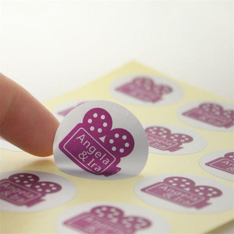 Manufacturer Custom Vinyl Logo Label StickersAdhesive - Custom vinyl stickers waterproof