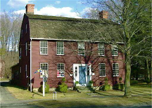 Dutch Colonial Hezekiah Thompson House Woodbury Connecticut