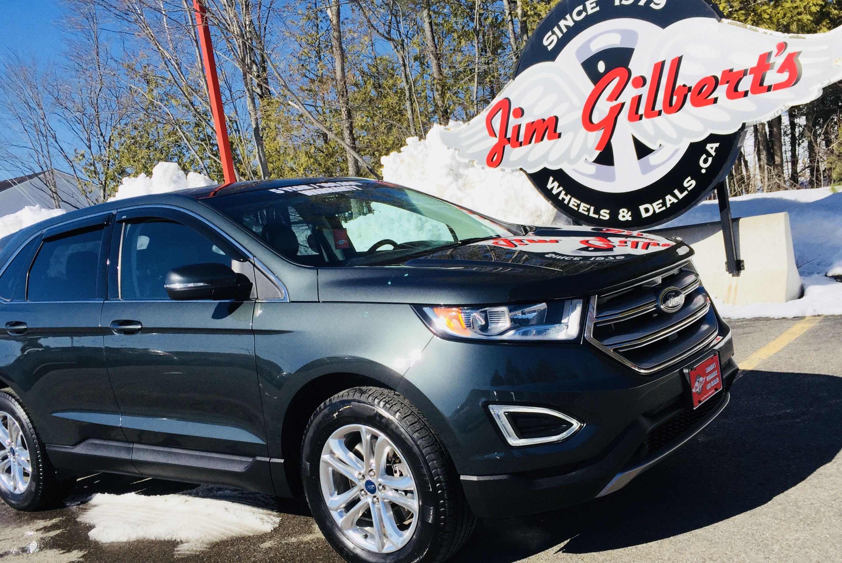 2015 Ford Edge Sel Awd Navigation Sun Roof Remote Start Rear