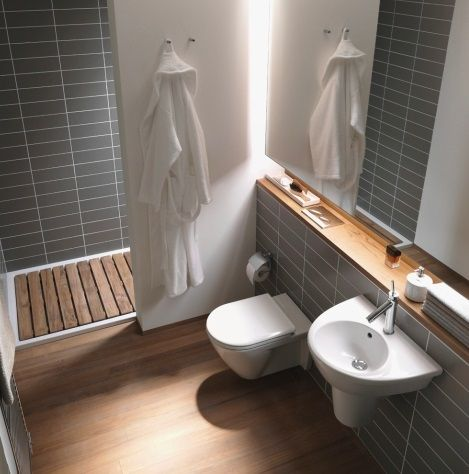 Concealed Wall Cistern Also Makes Way For A Unique Shelf