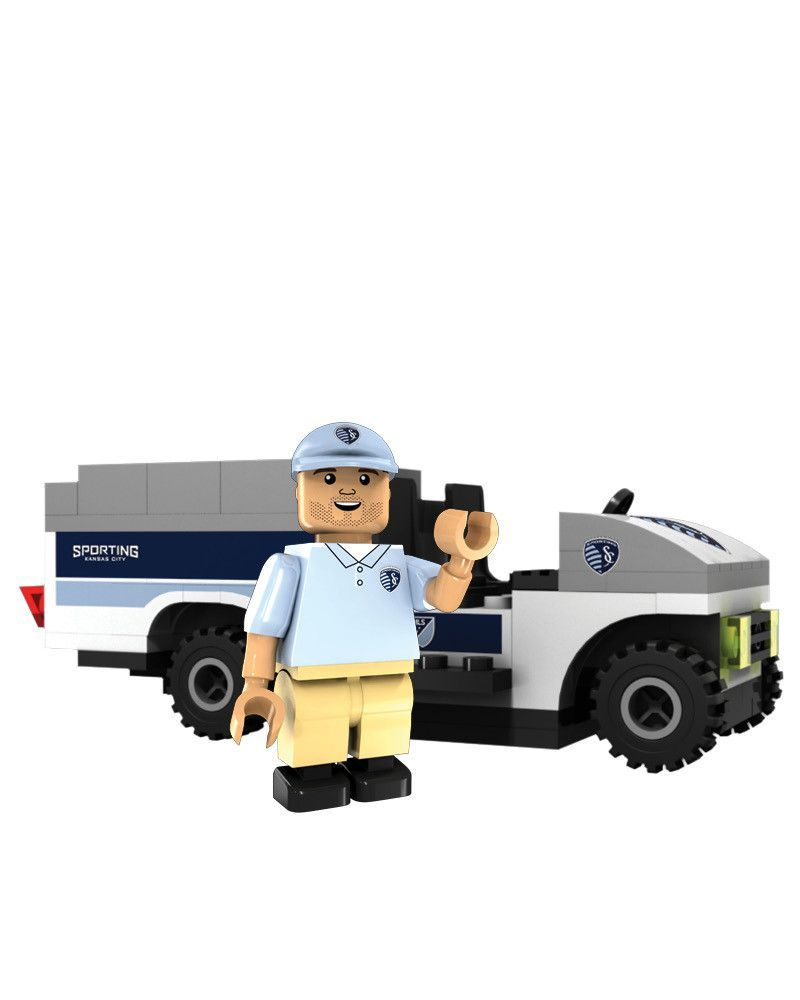 Sporting Kansas City Trainer Cart Lego by Oyo