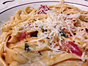 Barb's Recipe Basket: One Pot Tomato Basil Pasta
