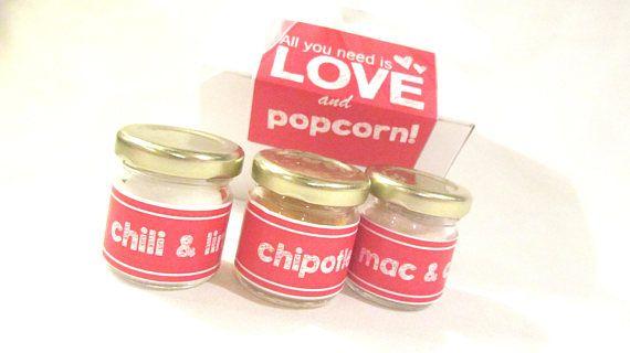 popcorn seasoning All you need is LOVE Gift Set, Bridal Party Gifts, Bridesmaid Maid of Honor Flower Girl Mother of the Bride, Guests #peachcobblercheesecakeinajar