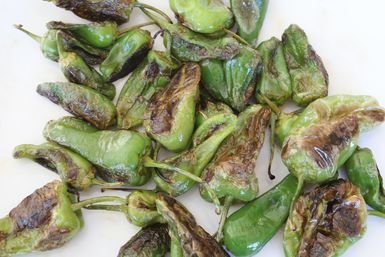 Make the most of these small green peppers: Pimientons de Padron (Padron Peppers)