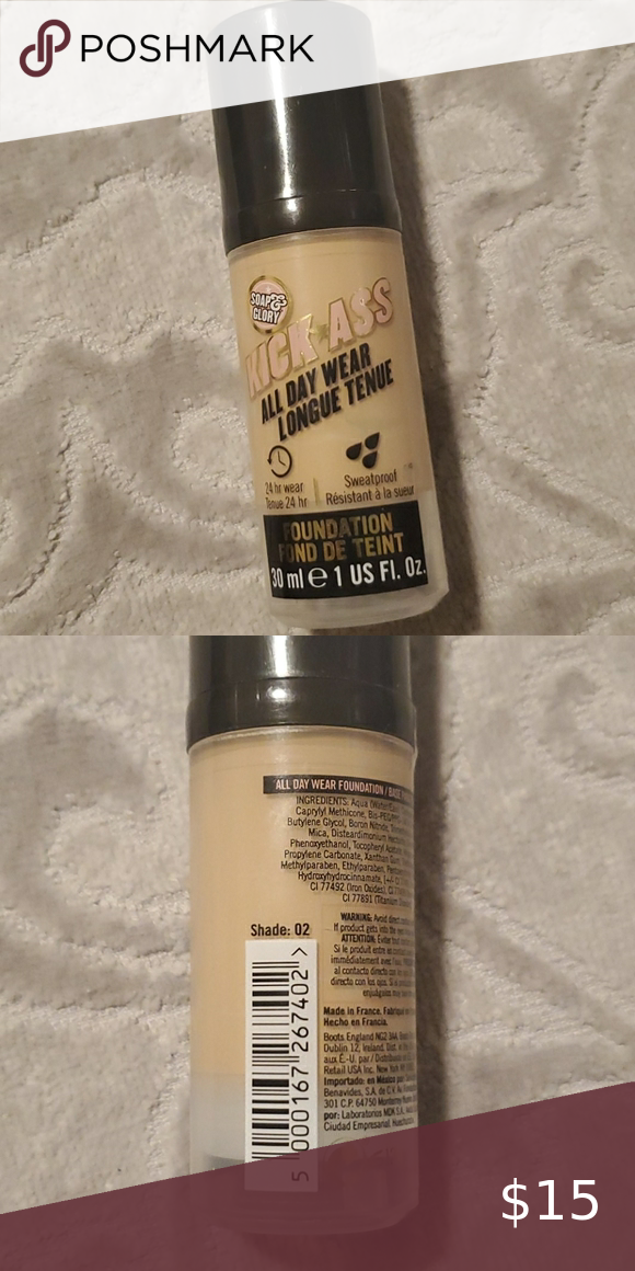 NWOB Soap & Glory Kickass all day wear foundation in 2020