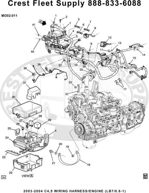 15+ Lb7 Engine Wiring Harness Diagramlb7 duramax wiring