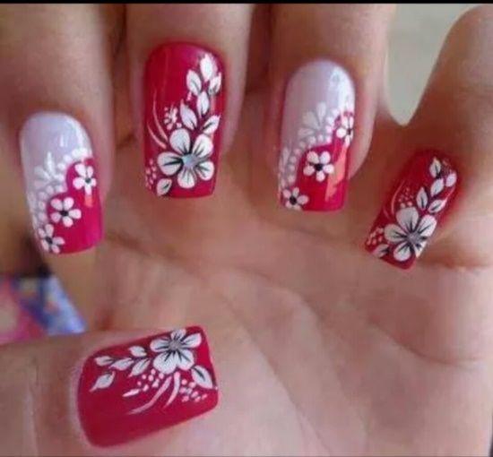 50 Tropical Nail Art Designs For Summer | Nail Design Ideaz - 50 Tropical Nail Art Designs For Summer Nail Design Ideaz Nails