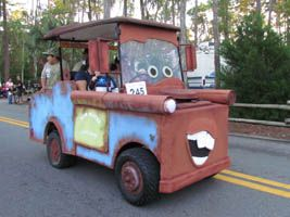 decorating a golf cart for halloween this is one of our favorite disney events of the year other terrific