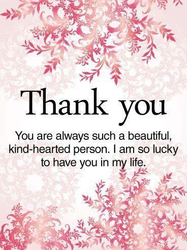 Thank You My Beautiful Friend My Love Always Xoxos Me Thank