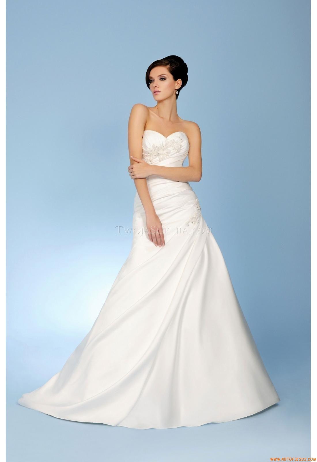 Elegant Sweetheart Ball Gown Court Train Unique Wedding Dress Trudy ...