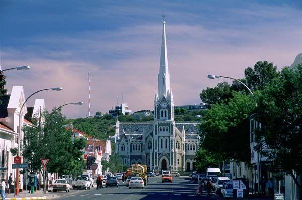 Main Street, Graaf-Reinet, Eastern Cape province, South Africa photo