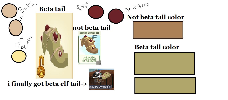 I Finally Got Beta Elf Tail Animal Jam Color Me Gallery Wall