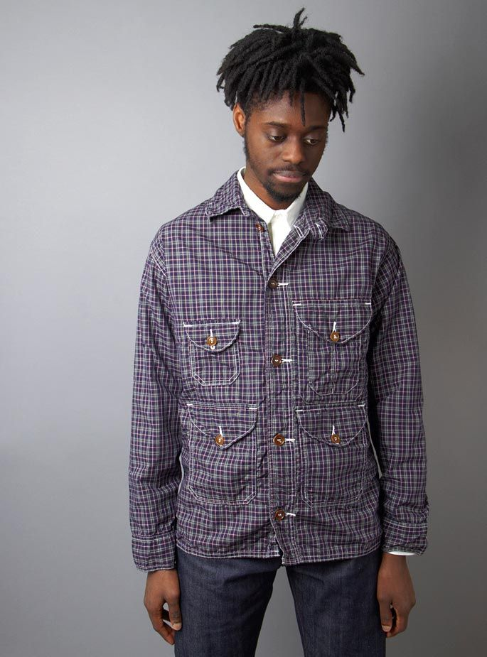 Couverture and The Garbstore » Cruzer W5 Plaid Shirt Jacket