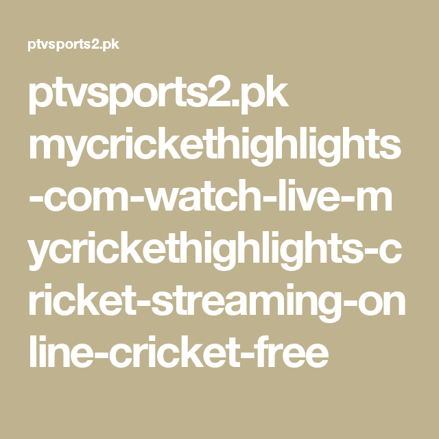 Mycrickethighlights 2