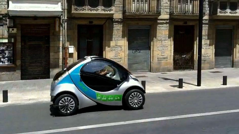 2013 Hiriko Folding Electric City Car Made In Spain City Car Car Sharing Electric Car