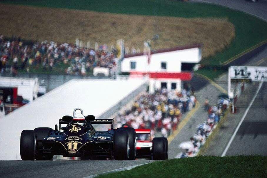 Elio de Angelis Lotus 83 Austria 1982 Winners