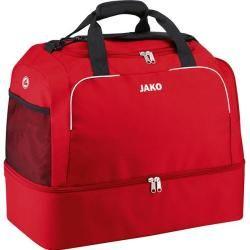Photo of Jako Unisex Sporttasche Classico, Größe 2 in Rot, Größe 2 in Rot Jako