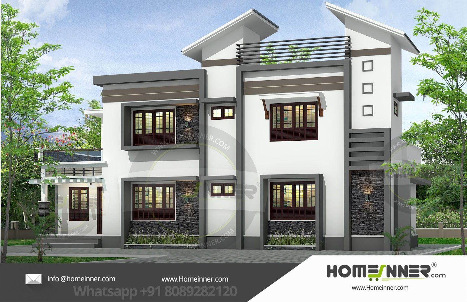27 Lakh 4 Bhk 1916 Sq Ft Ghaziabad Villa Free House Plans House Exterior Beautiful Home Designs