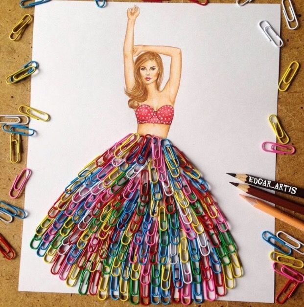 Stunning Fashion Designs With Everyday Objects Creative Art Creative Artwork Art Dress