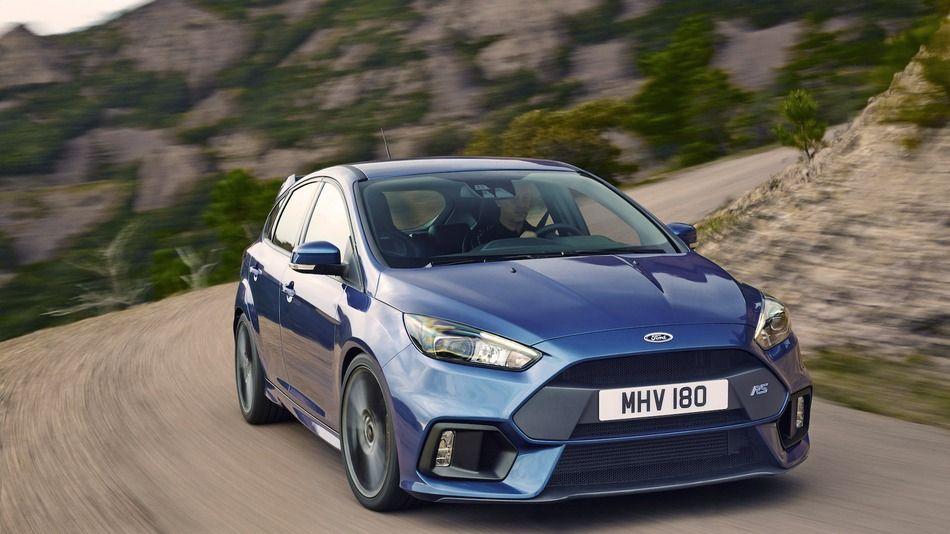 Ford S Focus Rs Officially Rated At 350 Horsepower Ford Focus Rs